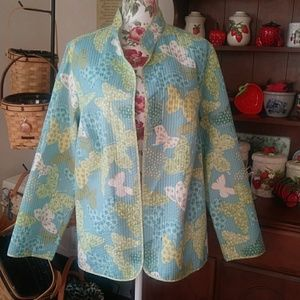 Alfred Dunner Size 16W spring jacket